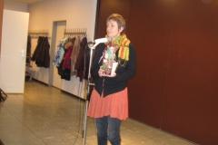 Frau Weber-Gerhards verabschiedet sich als 1.Vorsitzende